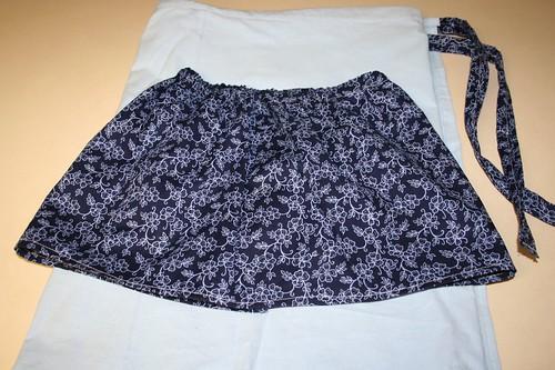 mama and baby matching skirts