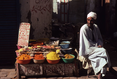 Egyptian Spice Vendor