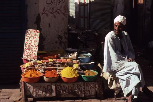 Egyptian Spice Vendor