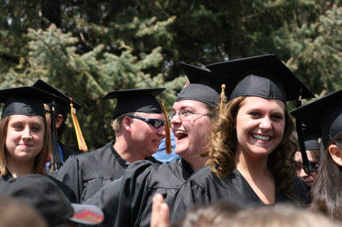 The graduate walk