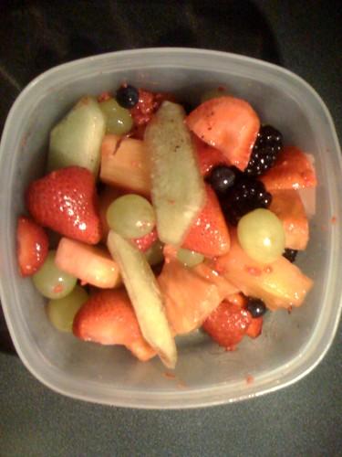 calories fruit