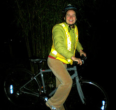 Nina the bike commuter