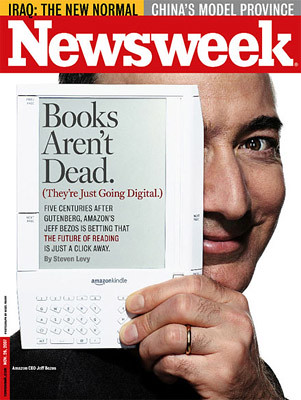Newsweek book are not dead bezos