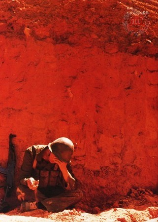 Un soldat chinois. Laoshan 1984