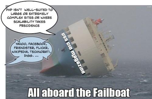 Failboat, meet scalability