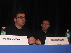 Joshua Schachter and Garrett Camp - SMX NY 2007