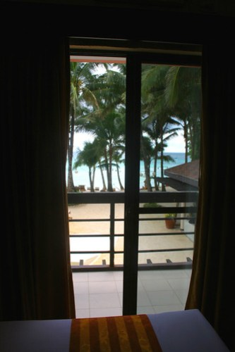 View of Boracay from your hotel room