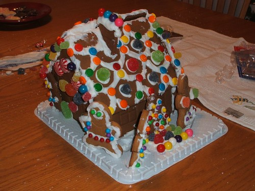 g'bread house: fourth day of Christmas