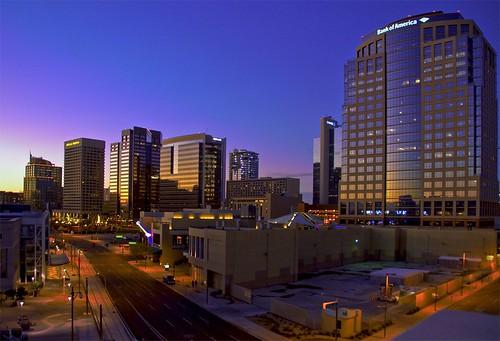 Phoenix Evening Skyline