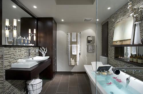 Hgtv Divine Design With Candice Olson Takes On Modern Bathroom