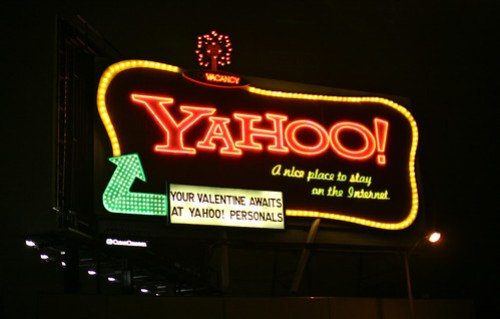 Yahoo! Neon Sign in San Francisco
