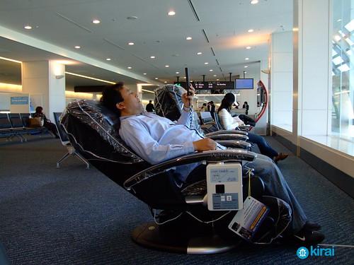 aeropuerto masaje