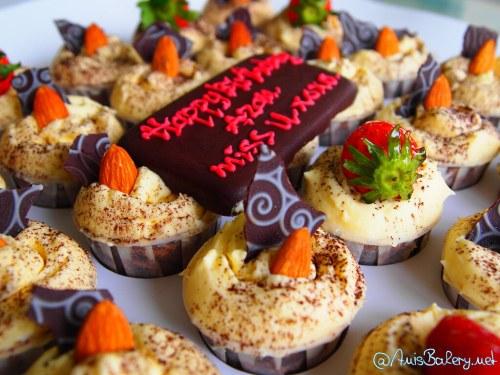 tempahan cupcakes | pakej hantaran