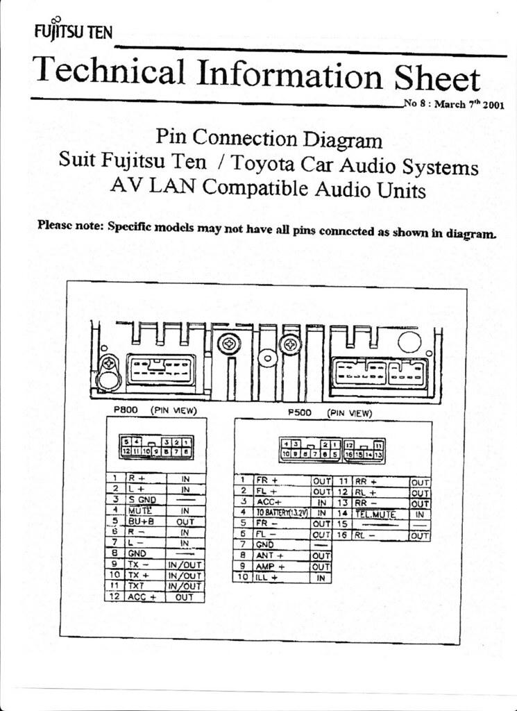 Toyota 10 Speaker Wiring Index listing of wiring diagrams