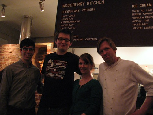 Us at the Woodberry Kitchen
