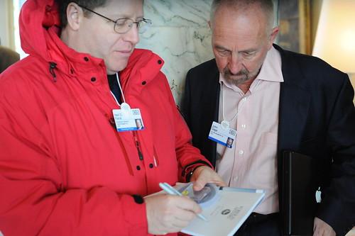 Neil Kane talks with John Gage