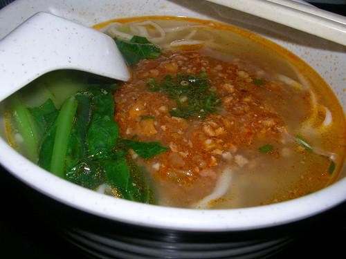 szechuan noodles @ wong kok