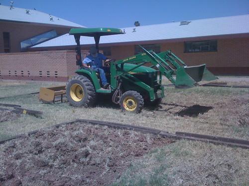 Work it, tractor man