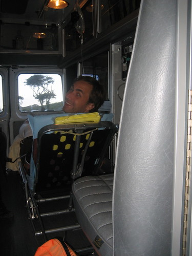aaron in the ambulance