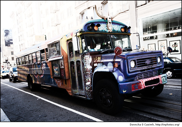 The hippiest bus