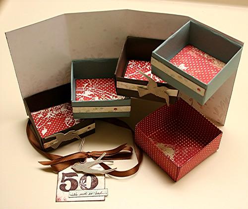 Оригинальный подарок из коробок