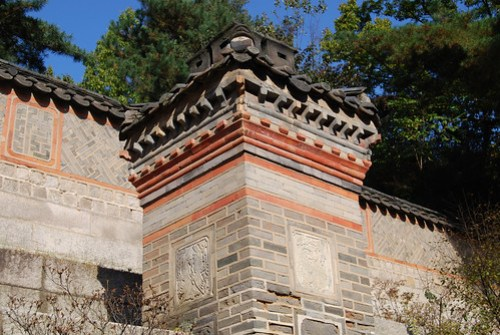 Chimney, Garden behind Daejojeon Hall, Changdeokgung Palace