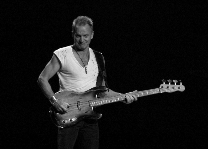 Sting and His Ratty Old 1955 Bass