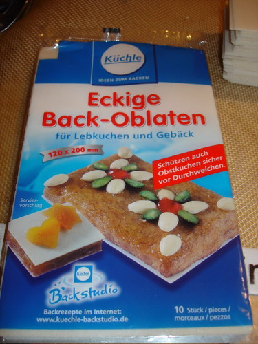 Oblaten Package