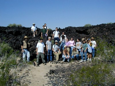 Looking at Old Lava Flows - 1