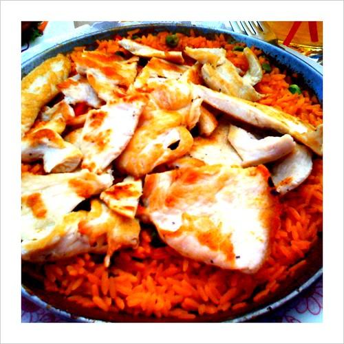arroz con pollo @ son cubano = delish!