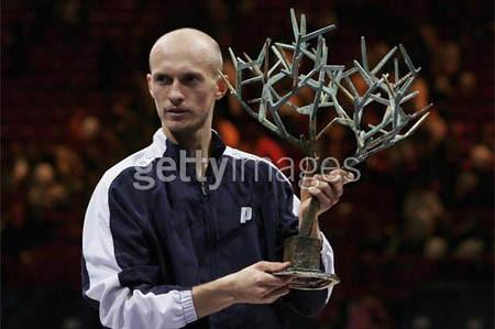 davydenko's paris masters trophy
