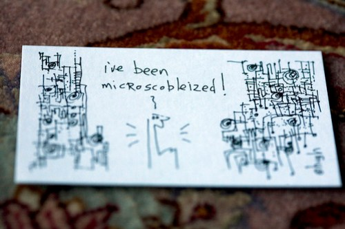 You've been Microscobleized