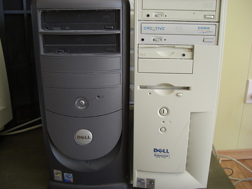 Two computers I am retiring