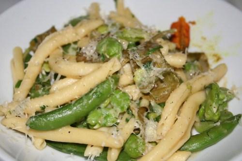 Delicious spring pasta