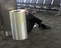 Weary Business Traveler
