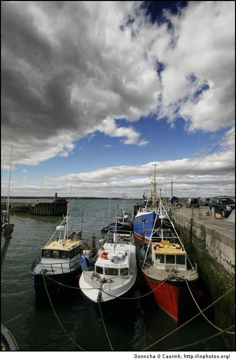 Ballycotton Fishing Boats