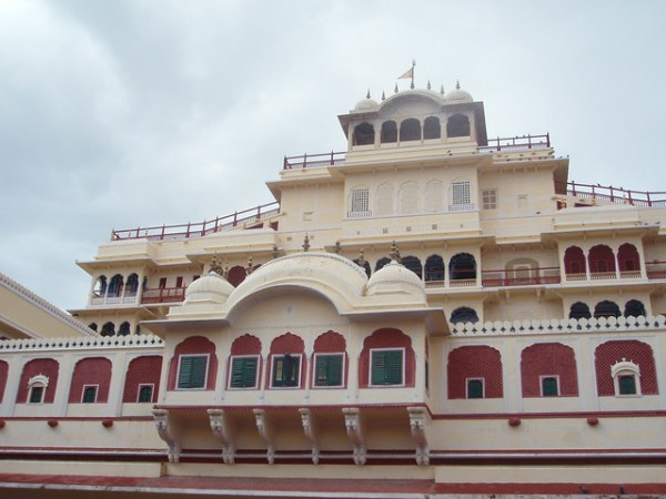 Edificio del Palacio de Jaipur