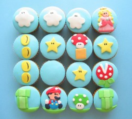 Mario cupcake scene! (via flickr)