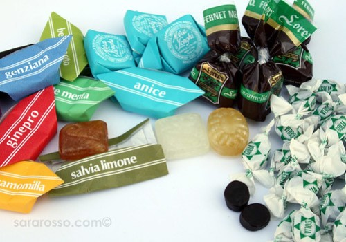 Herbal, Mint, Liquorice Italian Candies