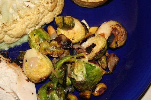 pistachio brussel sprouts