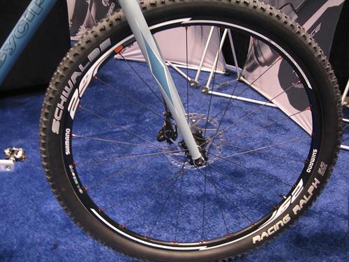 Shimano 29er wheel
