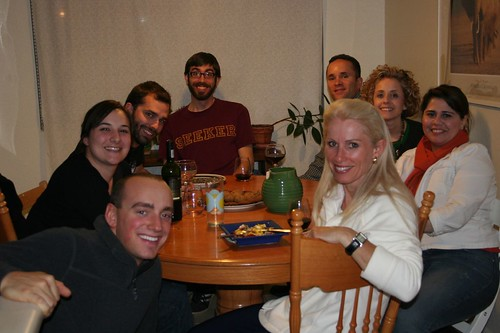 community dinner, round 3