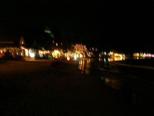 Chaweng Beach @ Night