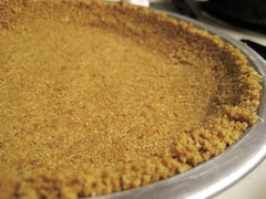 unbaked graham cracker pie crust