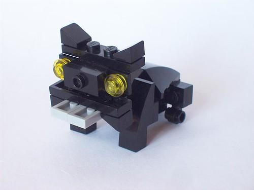 LEGO pug dog