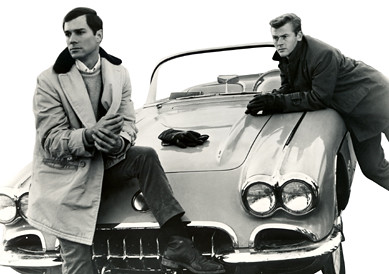 George Maharis (left) and Martin Milner in