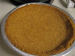 baked graham cracker crust