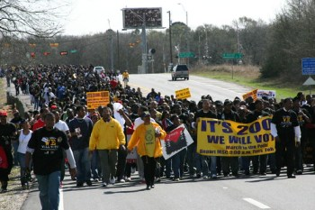 Image result for Prairie View A&M voting rights protest