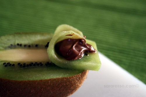 Kiwi and Nutella for World Nutella Day