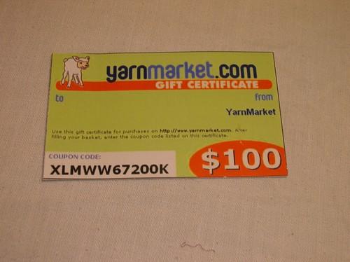 yarn markey gift card